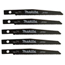 Makita Cordless Reciprocating Saw Blades MAK458-792615-4