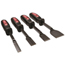 Mayhew Tools Dominator 4 Piece Hd Carbon Scraper Sets, 1/2