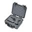 Pelican Small Protector Cases, 1200 Case, 7.12 In X 4.12 In X 9 1/4 In, Black PLC562-1200-100-110