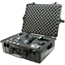 Pelican Large Protector Cases, 1600 Case, 16 1/2 In X 7.87 In X 21.43 In, Black PLC562-1600-000-110