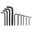 Proto 10 Piece Torx® Key Sets PTO577-4961