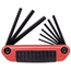 Proto 9 Piece Folding Hex Key Sets PTO577-4993CG