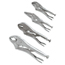 Irwin Locking Pliers Gift Sets, 5 In; 6 In; 7 In; 10 In With Bag IRW586-428GS