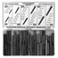 Precision Brand Taper Pin Assortments PRB605-12907