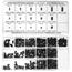 Precision Brand Metric Socket Head Set Screw Assortments PRB605-12975