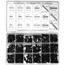 Precision Brand Metric Socket Head Screw Assortments PRB605-12980