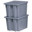 Rubbermaid Commercial Stack & Nest Palletote® Boxes RCP640-1721-GRAY