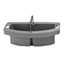 Rubbermaid Commercial Caddies RBC640-2649-GRAY
