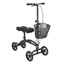 Drive Medical Dual Pad Steerable Knee Walker with Basket, Alternative to Crutches 796