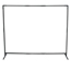 Best Welds Curtain Frame, 6 Ft X 6 Ft Expandable To 6 Ft X 8 Ft, Steel, Black BWL902-CURTAIN-FRAME