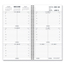 At A Glance AT-A-GLANCE® Weekly Appointment Book Refill Hourly Ruled AAG7090410