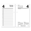 At A Glance AT-A-GLANCE® Desk Calendar Refill AAGE717R50