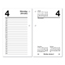 At A Glance AT-A-GLANCE® Desk Calendar Refill with Tabs AAGE717T50