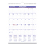At A Glance Monthly Wall Calendar with Ruled Daily Blocks, 8 x 11, White, 2019 AAGPM128