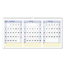 At A Glance AT-A-GLANCE® QuickNotes® Three-Month Wall Calendar in Horizontal Format AAGPM1528