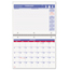 At A Glance AT-A-GLANCE® Wirebound Monthly Desk/Wall Calendar AAGPM17028