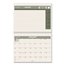 At A Glance AT-A-GLANCE® Recycled Desk/Wall Calendar AAGPM170G28
