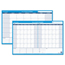 At A Glance AT-A-GLANCE® 30/60-Day Undated Horizontal Erasable Wall Planner AAGPM23328