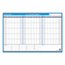 At A Glance AT-A-GLANCE® 90/120-Day Undated Horizontal Erasable Wall Planner AAGPM23928