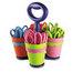 Westcott Westcott® Scissor Caddy with 24 Kids' Scissors with Microban® Protection ACM14756