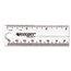 Westcott Westcott® Transparent Plastic Ruler ACM45016