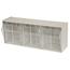 Akro-Mils TiltView™ Storage System - 3 Bin AKR06703