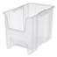 Akro-Mils Stak-N-Store Clear Bins AKR13014SCLARCS