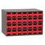 Akro-Mils 28-Drawer Storage Hardware and Craft Organizer AKR19228RED