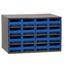 Akro-Mils 16-Drawer Storage Hardware and Craft Organizer AKR19416BLU