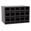 Akro-Mils 15-Drawer Storage Hardware and Craft Organizer AKR19715BLK