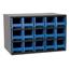 Akro-Mils 15-Drawer Storage Hardware and Craft Organizer AKR19715BLU
