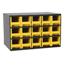 Akro-Mils 15-Drawer Storage Hardware and Craft Organizer AKR19715YEL