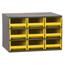 Akro-Mils 9-Drawer Storage Hardware and Craft Organizer AKR19909YEL
