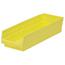 Akro-Mils 18 inch Nesting Shelf Bin Box AKR30138YELLOCS