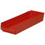 Akro-Mils 24 inch Nesting Shelf Bin Box AKR30184REDCS
