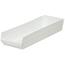 Akro-Mils 24 inch Nesting Shelf Bin Box AKR30184WHITECS