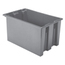 Akro-Mils 23.5 inch Nest & Stack Totes AKR35240GREYCS