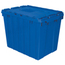 Akro-Mils Attached Lid Containers AKR39170BLUECS
