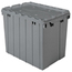 Akro-Mils Attached Lid Containers AKR39170GREYCS
