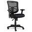 Alera Alera® Elusion Series Mesh Mid-Back Swivel/Tilt Chair ALEEL42BME10B