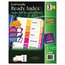Avery Avery® EcoFriendly Ready Index® Table of Contents Dividers AVE11080
