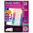 Avery Avery® Ready Index® Contemporary Multicolor Table of Contents Dividers AVE11127