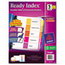Avery Avery® Ready Index® Contemporary Multicolor Table of Contents Dividers AVE11187