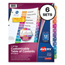 Avery Avery® Ready Index® Contemporary Multicolor Table of Contents Dividers AVE11196