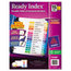 Avery Avery® Ready Index® Contemporary Multicolor Table of Contents Dividers AVE11197