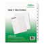 Avery Avery® Office Essentials™ Table 'N Tabs™ Dividers AVE11672