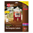 Avery Avery® Rectangle Removable Durable TrueBlock® Labels AVE22827