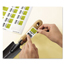 Avery Avery® Rectangle Removable Durable TrueBlock® Labels AVE22828