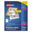 Avery Avery® Shipping Labels with Paper Receipt AVE5127