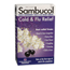 Sambucol Black Elderberry Cold and Flu Relief - 30 Lozenges BFG53123